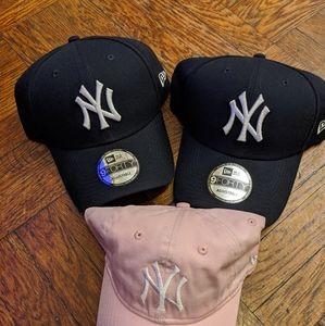 Baseball cap Yankees $10 each all three $25
